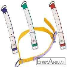 Halsriemen Halsband für Schafe Ziegen Böcke Nylon/Leder verstärkt 60cm x2,5cm