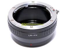 Anello adapter per montare ottiche Leica R su corpi Fuji X-Pro 1. Adattatore.