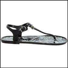 dbfdfe793 EMPORIO ARMANI Black Buckle Flip Flops Women s Sandals