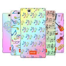 OFFICIAL EMOJI MUSIC PATTERNS HARD BACK CASE FOR SONY PHONES 3