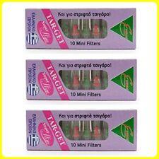 SUPER SLIM Mini Filter Tobacco Smoker Nicotine Roll Ups & Slim Cigarette 10-Pack