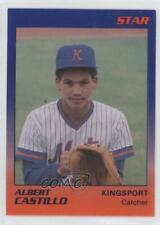 1989 Star Kingsport Mets #5 Alberto Castillo Rookie Baseball Card