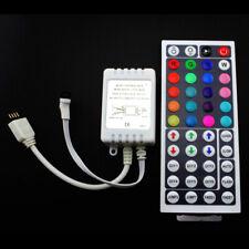 44 Key Ir Remote Controller Box Dc 12V For Rgb Led 3528 5050 Strip Lights Wtus