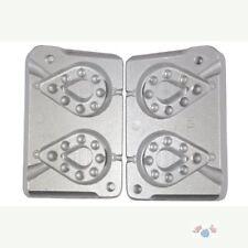 Aluminium Mould for 2 Pear Shaped Dumpy Grippa Weights 250/280gram