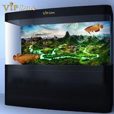 Mountain River PVC Aquarium Background Poster Fish Tank Decorations Landscape