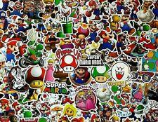 Mario Stickers Super Mario Peach RETRO GIFT Gamers PC Car School Decal Vinyl