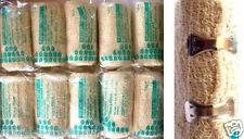 lote de 10 bandas panqueque algodón 7,5 cm x 4,5m CALIDAD vendajes con grapas