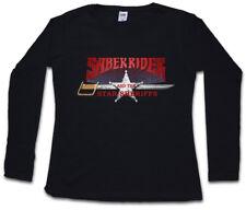 SABER RIDER & THE STAR SHERIFFS I DAMEN LANGARM T-SHIRT Sei Bismark Saber Rider