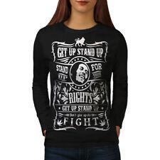 Bob Marley Quote Women Long Sleeve T-shirt NEW | Wellcoda