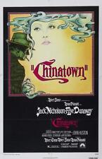 CHINATOWN VINTAGE MOVIE POSTER CINEMA A4 A3 art print Cinema