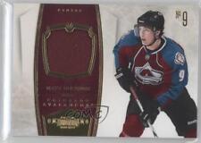 2010 Panini Dominion Jerseys Memorabilia 27 Matt Duchene Colorado Avalanche Card