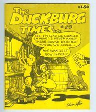 Duckburg Times #23 February 1989 F/VF