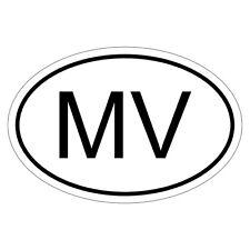 Malediven MV - csd0022 Autoaufkleber Sticker Aufkleber KFZ Flagge