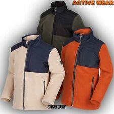 Kids Fleece Jacket Hiking School Camping Trip Sweater Jumper Top Meye