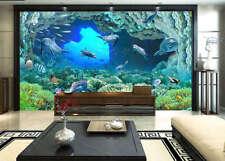 Deep Sea Roaming 3D Full Wall Mural Photo Wallpaper Printing Home Kids Decor