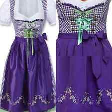Stockerpoint Dirndl Jasmin Violett/Weiß Lila Kleid Trachtenkleid Gr 34 NEU