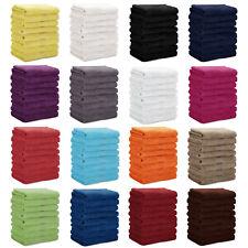 8er PACK Gästetücher Handtücher Duschtücher 100% Baumwolle, 500 g/m²