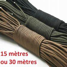 Corde de Parachute Paracord nylon - Plusieurs couleurs et tailles