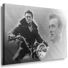 Leinwandbild James Dean Motorad Bild auf Leinwand Deko  Film  Top Qualität