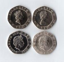 1982 - 2019 UNC 20p Twenty Pence Coin ~ Brilliant Uncirculated ~ Royal Mint