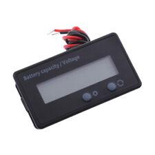 6-63V Digital Voltmeter LCD Display Lithium Battery Capacity Voltage Meter