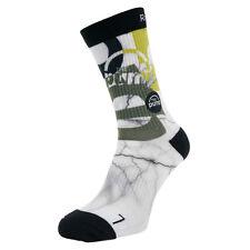 Reebok ZPump Print Socks CoolMax Wicking Training Running Supportive Socks