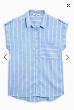 Lovely Blue Casual Stripe Shirt