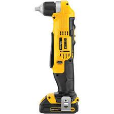 DEWALT 20V MAX Li-Ion Compact Right Angle Drill Kit DCD740C1 New