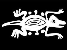 Tribal Lizard Decal car truck trailer window vinyl sticker