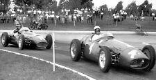 1956 Maserati 250F F1 at Argentina GP Buenos Aires - Photo Poster