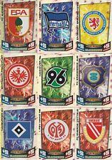 Partido de Topps aTTaX Bundesliga 2013/2014 carta escudo logo Liga 1ª + 2ª