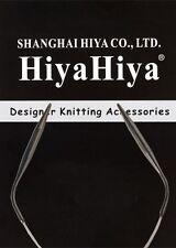 "HiyaHiya 12"" Stainless Steel Circular Knitting Needles"