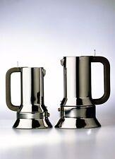 Caffettiera espresso PER INDUZIONE Alessi acciaio inox premio Compasso d'oro