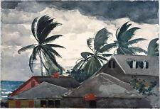 Winslow Homer - Hurricane Bahamas Vintage Fine Art Print