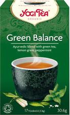 Yogi Tea Green Balance 17 Bags Blend Of Green Tea Lemon Grass And Peppermint