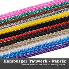 10mm Flechtleine, Schnur, Seil, Leine, Reepschnur 100m Rolle in vielen Farben