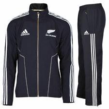 adidas Trainingsanzug All Blacks Pres Suit Neuseeland New Zealand Rugby schwarz