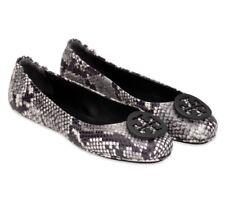 Tory Burch NEW Minnie Roccia Snake Python Travel Ballet Flats Sizes  5.5 10.5 11