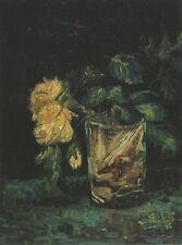 Vase With Roses Paris Van Gogh VG255 Reproduction Art Print A4 A3 A2 A1