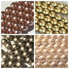 Genuine PRECIOSA Ceco Perle Di Vetro Perle 6mm (50)