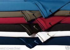 NIKE GOLF Mens Size S L XL 3XL 4XL Dri-Fit Polo Sport Shirts with Tipped Trip