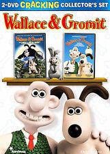 Wallace  Gromit Cracking Collectors Set (DVD, 2006, 2-Disc Set) - Four Films