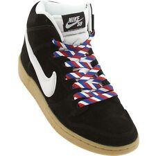 313171-021 Nike Men Dunk High Premium SB Fly Barber Shop black white gum light b