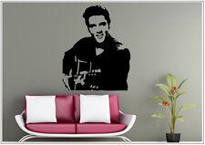 Wandtattoo wandaufkleber wandsticker photo  Porträt Music Gitarre wph27