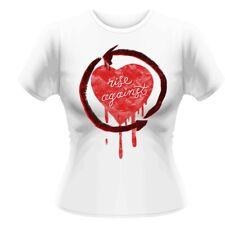 Rise Against 'Rough Heart' Girlie T shirt - NEW