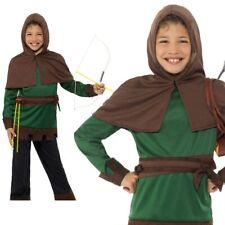 Disfraz Robin Hood Infantil Carnaval Disfraz Edad 4-12 Años
