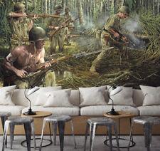 3D Soldat Guerre.Photo Papier Peint en Autocollant Murale Plafond Chambre Art