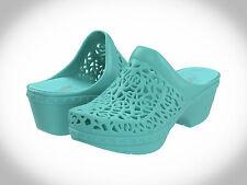 Dansko Pippa Women Molded Clog Shoe, Open Back,Comfortable TEAL Thermoplastic