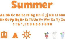 Silhouette Digital Craft Die Cutter Design Software CD CHOICE Summer Wildflower