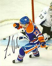 Edmonton Oilers Linus Omark Signed Autographed 8x10 COA